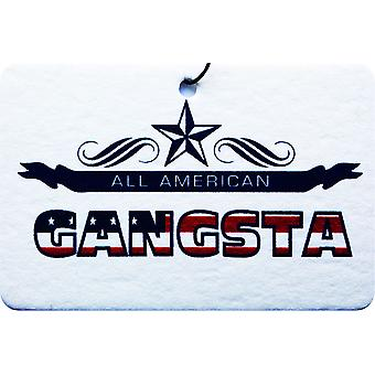All American Gangsta Car Air Freshener