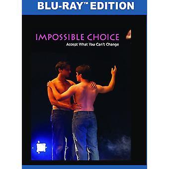 Umuligt valg [Blu-ray] USA importerer