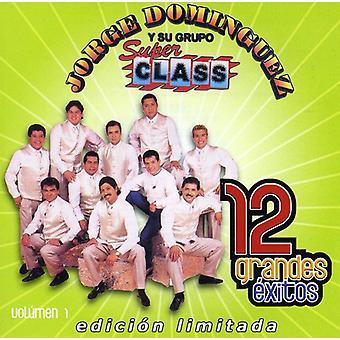 Jorge Dominguez - Jorge Dominguez: Vol. 1-12 Grandes Exitos [CD] USA importerer