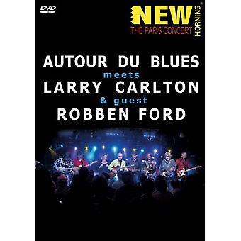 Autour Du Blues mødes Larry Carlton & Robben [DVD] USA importerer