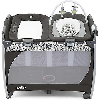 Joie Excursion Change & Bounce Travel Cot Abstract Arrows