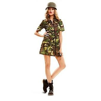 My Other Me Soldier Costume Women (Costumes)