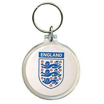 England FA akryl Crest nøglering
