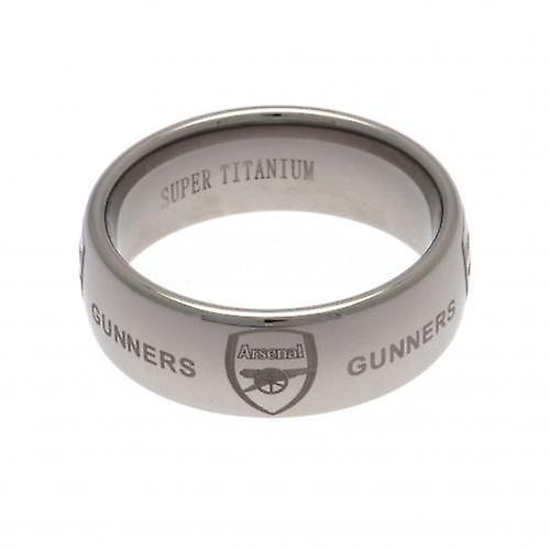 Arsenal Super Titanium Ring Small