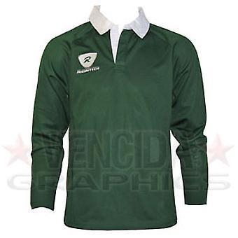 RUGBYTECH Kids Clubwear L/S Jersey [Green]