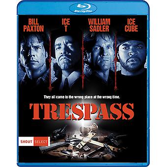 Trespass [Blu-ray] USA import