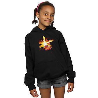 Disney Girls Cars Lightning McQueen Burst Hoodie