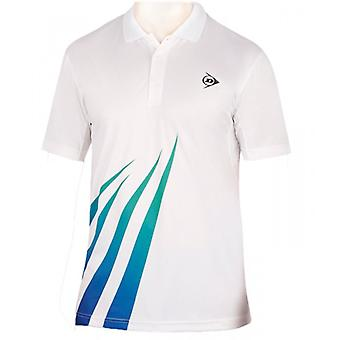Dunlop performance button polo men's