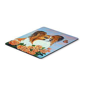 Carolines Treasures  7246MP Papillon Mouse Pad / Hot Pad / Trivet