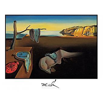 Persistens af hukommelse plakat Print af Salvador Dali (28 x 22)