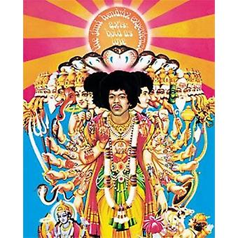Jimi Hendrix - Axis Bold As Love - Mural Poster Poster Print