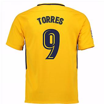 2017-18 Atletico Madrid Away Shirt (Torres 9) - Kids