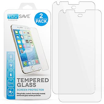 Google Pixel XL glas Screen Protector - Twinpack