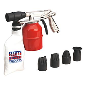Sealey Sg12 Recirculating Sand Blasting Kit Extra Heavy-Duty