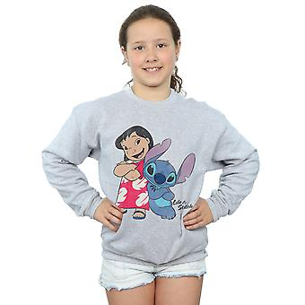 Disney Girls Lilo & Stitch Classic Lilo & Stitch Sweatshirt