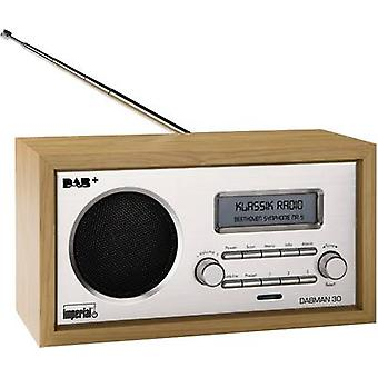 DAB+ Table top radio Imperial DABMAN 30 DAB+, FM Wood