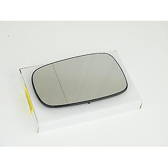 Left / Right Mirror Glass (heated) & Holder for RENAULT MEGANE mk2 Saloon 2003-2008