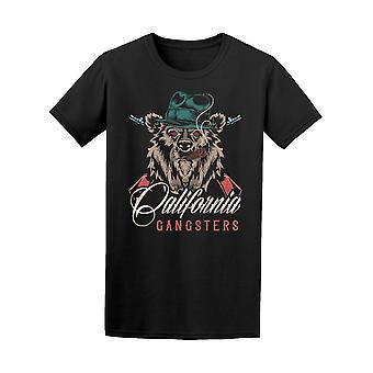 California Gangster Style Bear Tee Men's -Image by Shutterstock