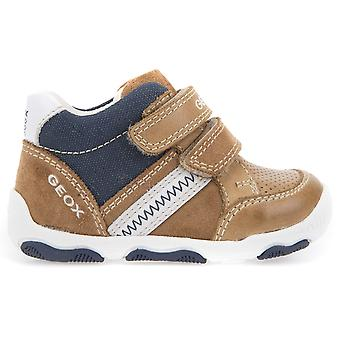 Geox Boys New Balu B820PD Shoes Caramel