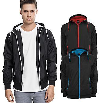 Urban classics - CONTRAST WINDBREAKER Windrunner jacket
