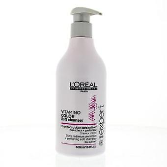 L'Oreal Professionnel Champu Vitamino Color Soft Cleanser 500 ml (Capilar , Champús)