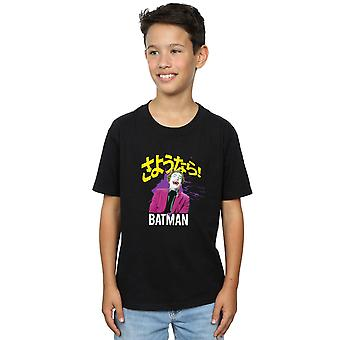 DC Comics Boys Batman TV Series Joker Splat T-Shirt