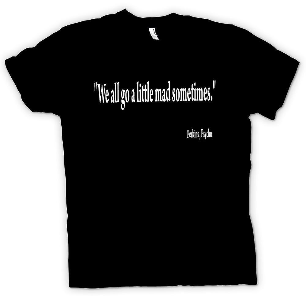 Mens t-shirt - film Psycho - preventivo