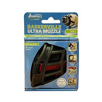Baskerville Ultra Dog Muzzle size 5, Black, Muzzle For Boxer, Golden Retriever