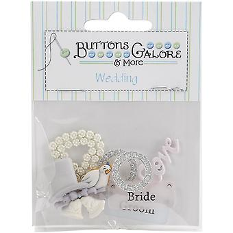 Button Theme Pack-Bride & Groom