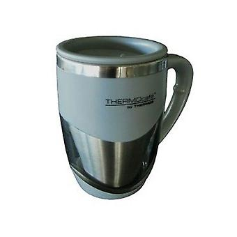 Thermos 375mL S/Steel Inner Double Wall Desk Mug (Black/Grey Random)