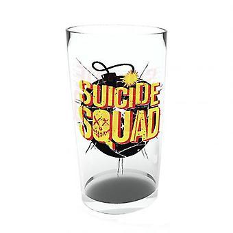 Suicide Squad Large Glass