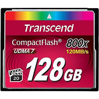 CompactFlash card 128 GB Transcend Premium 800x