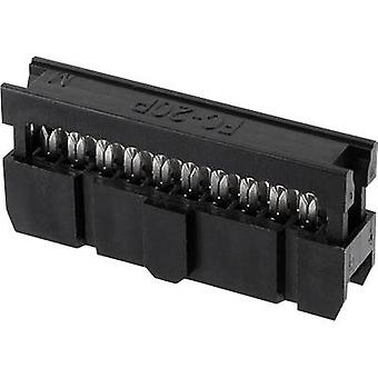 ECON connecter espacement des broches Connecteur Contact: 2,54 mm nombre de broches: 14 n° de lignes: 2 1 PC (s) plateau