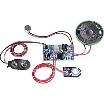 Audio recording unit Component Conrad Components 191083 9 Vdc Recording Time 20 s