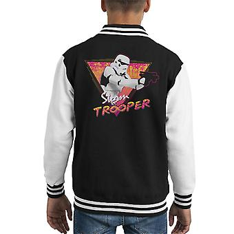 Original Stormtrooper Retro Wave 80s Kid's Varsity Jacket