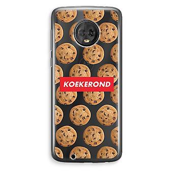 Motorola Moto G6 Plus Transparent Case (Soft) - Koekerond