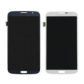 Roba Certified® Samsung Galaxy Mega 6.3 i9200 / i9205 Screen (LCD + Touch Screen + parti) A + qualità - nero / bianco