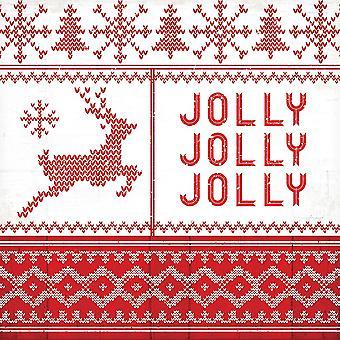 Nordic Christmas IV Poster Print by Jennifer Pugh