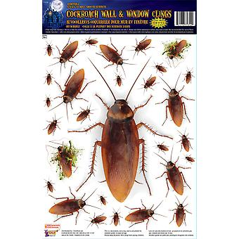 Bnov kakerlakk veggen & vindu klistremerker