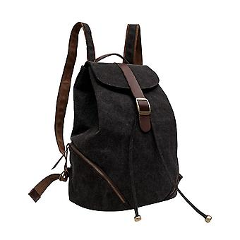 iEnjoy svart ryggsäcken i slitstark tyg