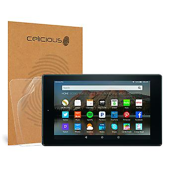 Celicious Matte Anti-Glare Screen Protector Film Compatible with Amazon Fire HD 8 (2015) [Pack of 2]
