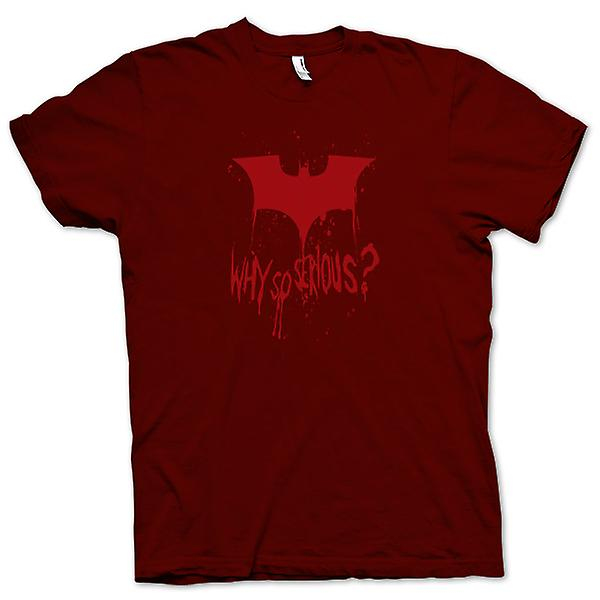 Herren T-Shirt - Batman-Logo - Warum so ernst