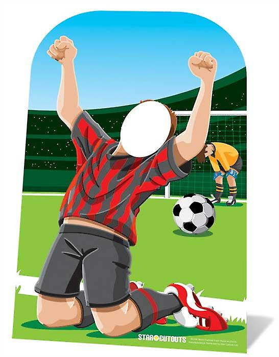 World Cup Footballer Child Size Cardboard Stand-in Cutout / Standee / Standup