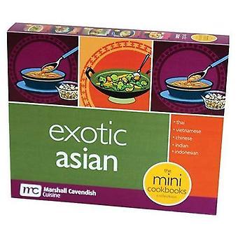 Exotic Asia: Mini Box Cookbooks (Mini Cookbooks Boxed Set)