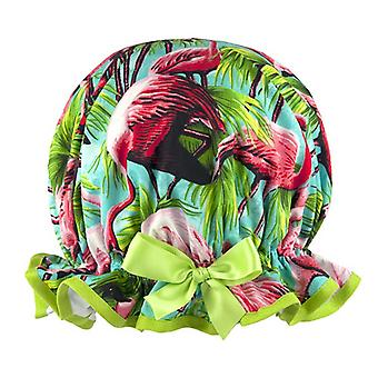 Funky Flamingo Shower Cap