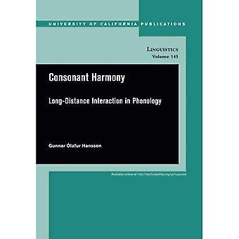 Armonía consonante: Las interacciones de larga distancia en fonología (publicaciones de la Universidad de California en la lingüística)