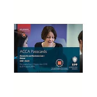 ACCA corporatif et droit des affaires (Global): cartes