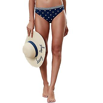 Joules Womens Nixie Contouring Support Summer Bikini Bottoms