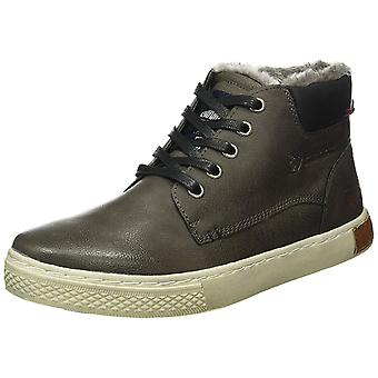 Tom Tailor shoes lined men's high top sneaker boots grey