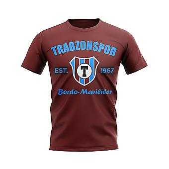 Trabzonspor establecido fútbol camiseta (marrón)
